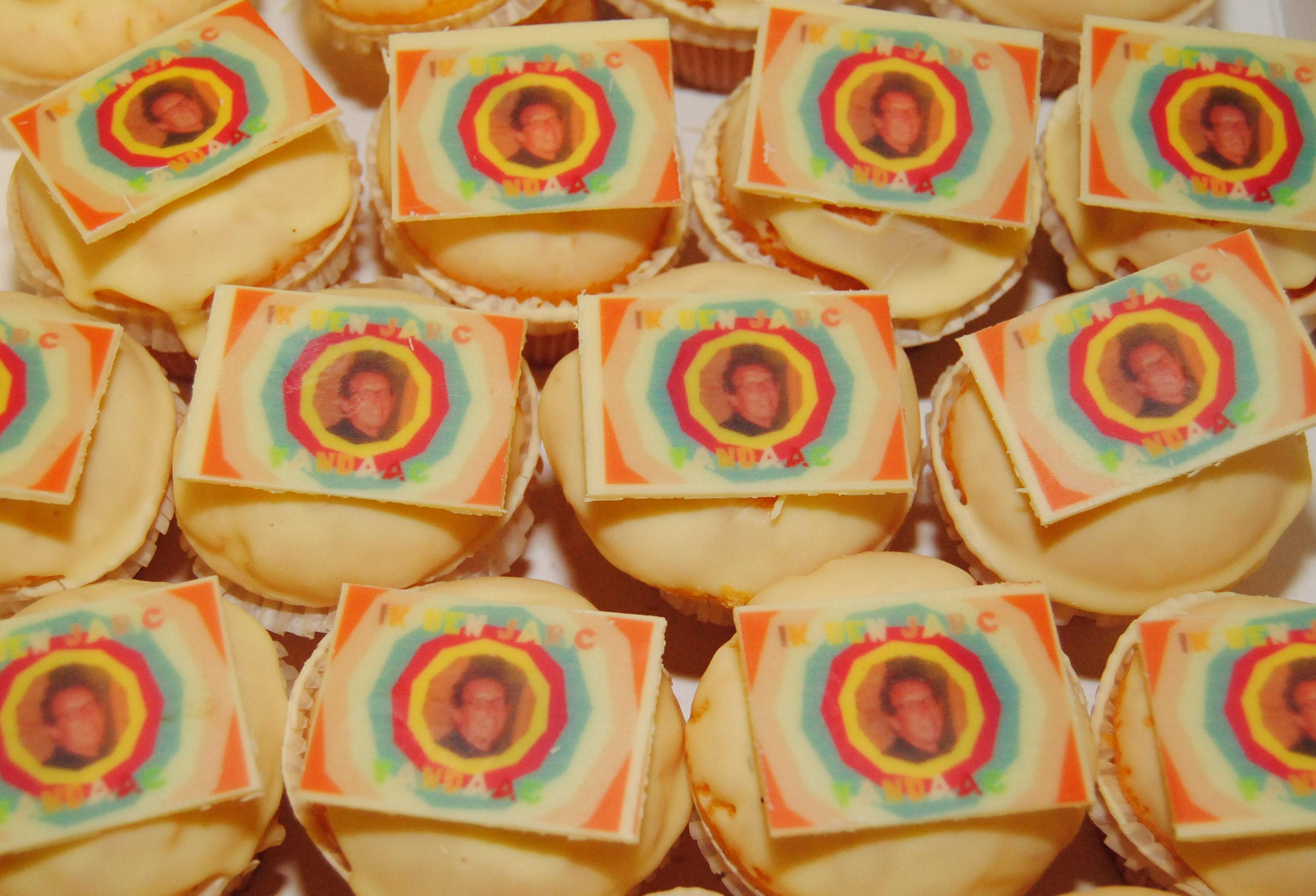 Muffins met foto bestellen