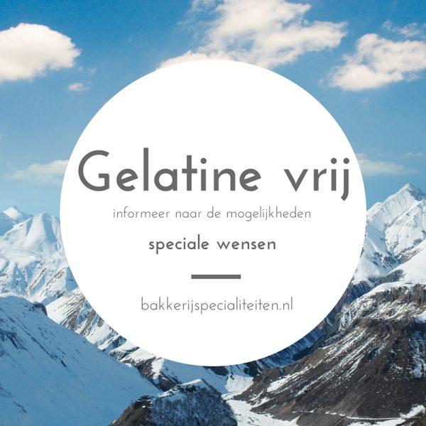 Gelatine vrij