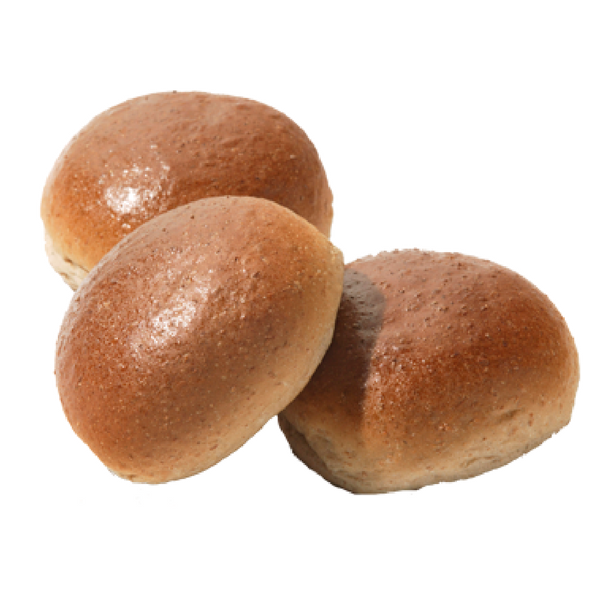 Bruin zachte bol broodje