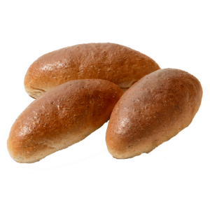 Bruin zacht puntbroodje